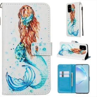 Plånboksfodral Samsung Galaxy S20 Plus – Sjöjungfru