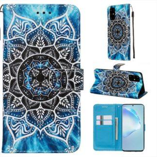 Plånboksfodral Samsung Galaxy S20 Plus – Blå Mandala