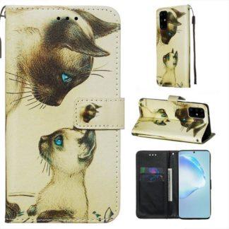 Plånboksfodral Samsung Galaxy S20 Plus – Katter