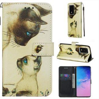 Plånboksfodral Samsung Galaxy S20 Ultra – Katter