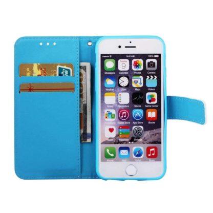 Plånboksfodral Apple iPhone SE (2020) – Blå Mandala
