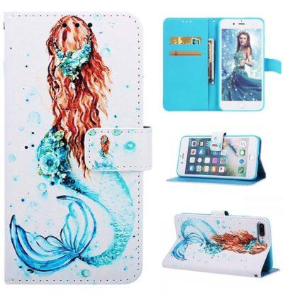 Plånboksfodral Apple iPhone 6 Plus – Sjöjungfru