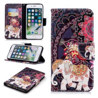 Plånboksfodral Apple iPhone 6 Plus – Indiskt / Elefant