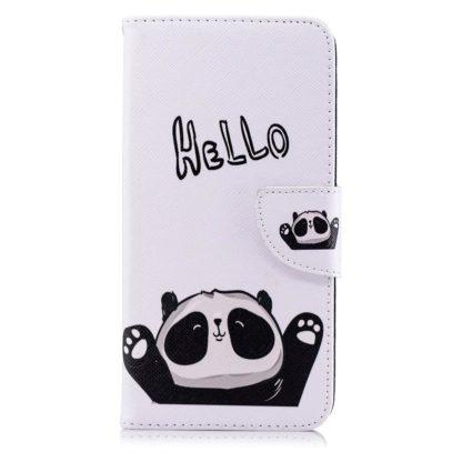 Plånboksfodral Apple iPhone SE (2020) – Hello Panda
