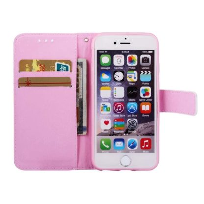 Plånboksfodral Apple iPhone SE (2020) – Enhörning