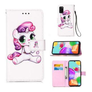 Plånboksfodral Samsung Galaxy A41 – Enhörning