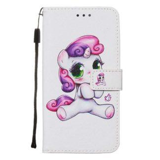Plånboksfodral Samsung Galaxy A71 – Enhörning