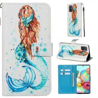 Plånboksfodral Samsung Galaxy A71 – Sjöjungfru