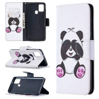 Plånboksfodral Samsung Galaxy A21s - Panda