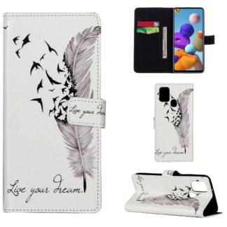 Plånboksfodral Samsung Galaxy A21s – Live Your Dream