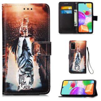 Plånboksfodral Samsung Galaxy A41 - Reflektion