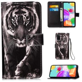 Plånboksfodral Samsung Galaxy A41 - Tiger