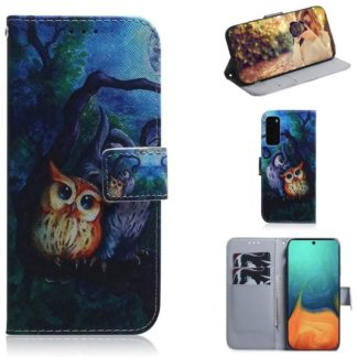 Plånboksfodral Samsung Galaxy S20 FE - Ugglor I Månsken