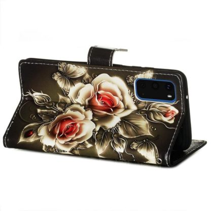 Plånboksfodral Samsung Galaxy S20 FE - Rosor
