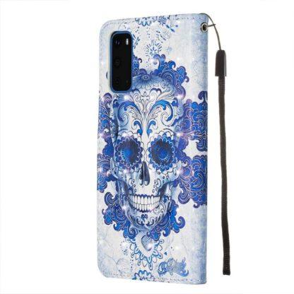 Plånboksfodral Samsung Galaxy S20 FE - Döskalle