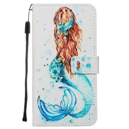 Plånboksfodral Samsung Galaxy S20 FE - Sjöjungfru
