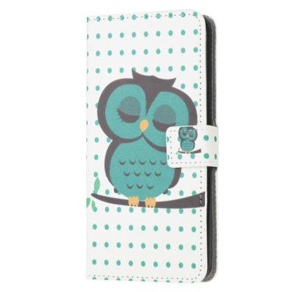 Plånboksfodral Samsung Galaxy S20 FE - Prickigt med Uggla