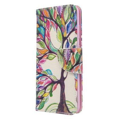 Plånboksfodral Samsung Galaxy S20 FE - Färgglatt Träd