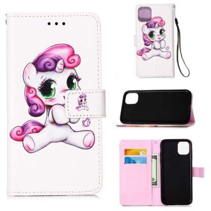 Plånboksfodral Apple iPhone 12 Mini – Enhörning