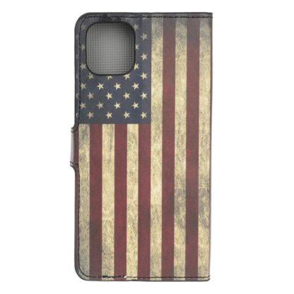 Plånboksfodral Apple iPhone 12 Mini - Flagga USA
