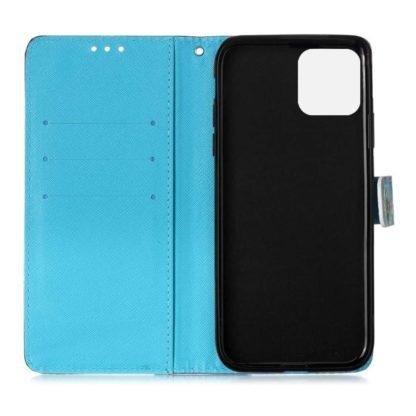 Plånboksfodral Apple iPhone 12 Mini – Utsmyckad Uggla