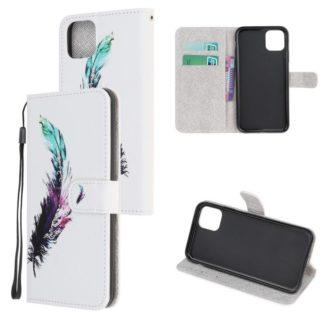 Plånboksfodral Apple iPhone 12 Mini – Fjäder