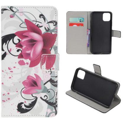 Plånboksfodral Apple iPhone 12 Mini - Lotus