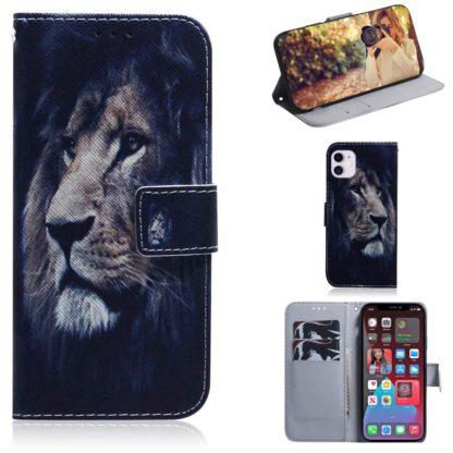 Plånboksfodral Apple iPhone 12 Mini – Lejon
