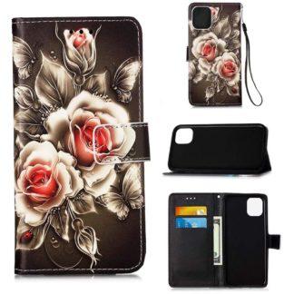 Plånboksfodral Apple iPhone 12 – Rosor