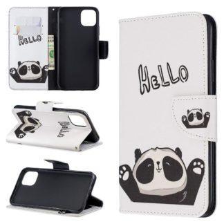 Plånboksfodral Apple iPhone 12 – Hello Panda