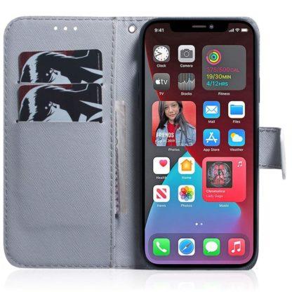 Plånboksfodral Apple iPhone 12 – Lejon