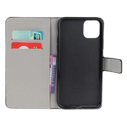 Plånboksfodral Apple iPhone 12 - Prickigt med Uggla