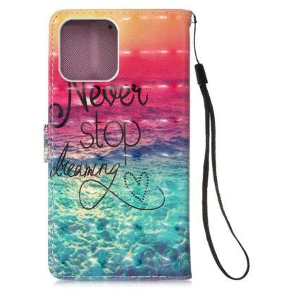 Plånboksfodral Apple iPhone 12 – Never Stop Dreaming