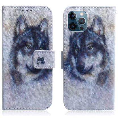 Plånboksfodral Apple iPhone 12 Pro – Varg