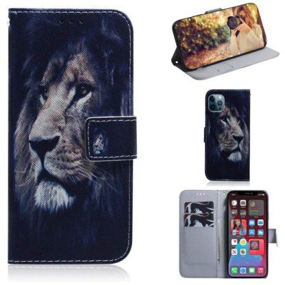 Plånboksfodral Apple iPhone 12 Pro – Lejon