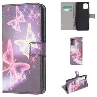 Plånboksfodral Apple iPhone 12 Pro - Lila / Fjärilar