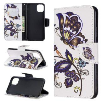 Plånboksfodral Apple iPhone 12 Pro – Elegant Fjäril