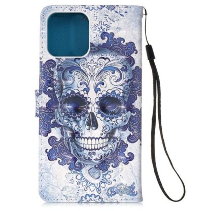 Plånboksfodral iPhone 12 Pro Max – Döskalle
