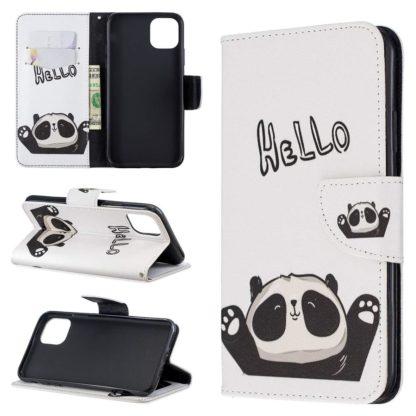 Plånboksfodral iPhone 12 Pro Max – Hello Panda