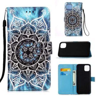 Plånboksfodral iPhone 12 Pro Max – Blå Mandala