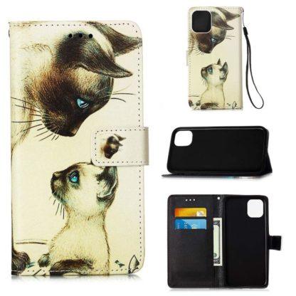 Plånboksfodral iPhone 12 Pro Max – Katter