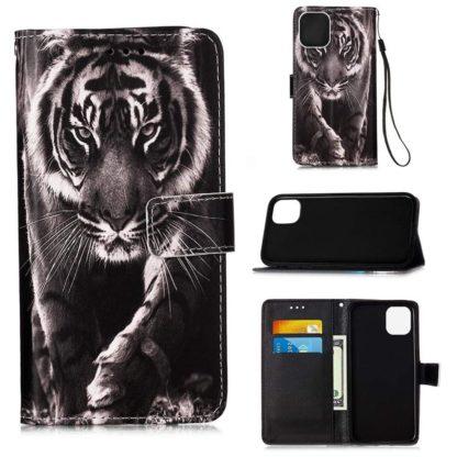 Plånboksfodral iPhone 12 Pro Max – Tiger