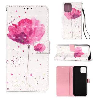 Plånboksfodral iPhone 12 Pro Max – Rosa Blomma