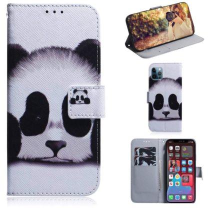 Plånboksfodral iPhone 12 Pro Max - Panda
