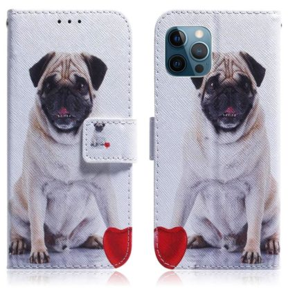 Plånboksfodral iPhone 12 Pro Max - Mops