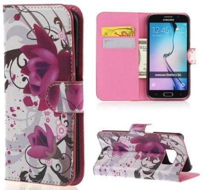Plånboksfodral Samsung Galaxy S6 – Lotus