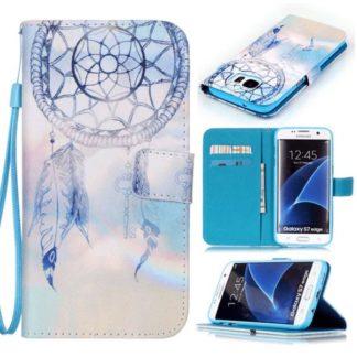 Plånboksfodral Samsung Galaxy S7 Edge – Drömfångare/Dreamcatcher