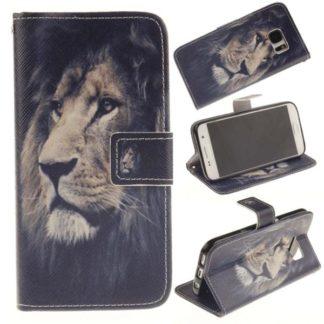 Plånboksfodral Samsung Galaxy S7 – Lejon