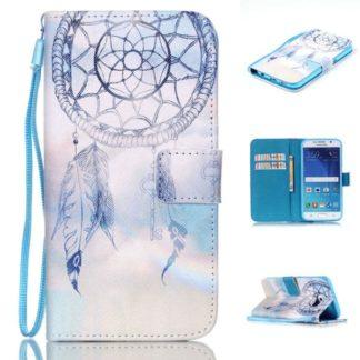 Plånboksfodral Samsung Galaxy S6 – Drömfångare / Dreamcatcher