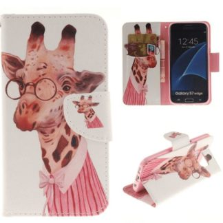Plånboksfodral Samsung Galaxy S7 Edge – Giraff